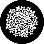 Standardstahlgobo Rosco Flower Patterns 78644