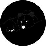 Standardstahlgobo Rosco Grizzly Bear 78654