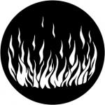 Standardstahlgobo Rosco Flames 5 79171