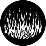 Standardstahlgobo Rosco Flames 6 79172