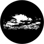 Standardstahlgobo Rosco Cloud 16 79501