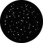 Standardstahlgobo GAM Design Realistic Stars 231