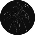Standardstahlgobo GAM Design Fireworks B 287