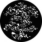 Standardstahlgobo GAM Design Treetop 304