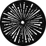 Standardstahlgobo GAM Design Explosion 306