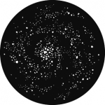 Standardstahlgobo GAM Design Nebula 337