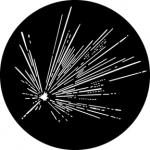 Standardstahlgobo GAM Design Sparkler 356