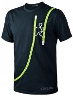 T-Shirt Edelrid Rope-T  Chimney  schwarz