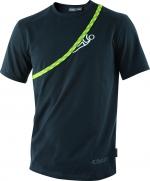 T-Shirt Edelrid Rope-T  Climber  schwarz