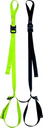 Sicherheitsschlinge Edelrid Casuality Safety Step  schwarz-leuchtgrün