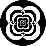 Standardstahlgobo Rosco Crescents 3  71016