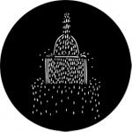Standardstahlgobo Rosco Fountain C 73623