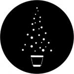 Standardstahlgobo Rosco Christmas Tree A 73631
