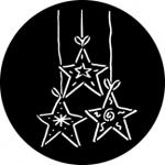 Standardstahlgobo Rosco Dangling Stars  76536
