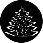 Standardstahlgobo Rosco Christmas Tree Complete 77227 (by Anne Lee)