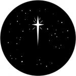 Standardstahlgobo Rosco Christmas Stars 77941