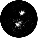 Standardstahlgobo Rosco Fireworks 5B 78012