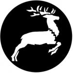 Standardstahlgobo Rosco Flying Reindeer 78383