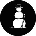 Standardstahlgobo GAM Design Snowman 796