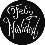 Standardstahlgobo GAM Design Feliz Navidad 844