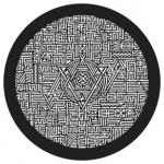 Standardstahlgobo GAM Design Mayan Maze 916