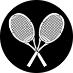 Standardstahlgobo Rosco Anyone for Tennis 76522