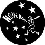 Standardstahlgobo Rosco Baseball 76524