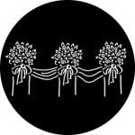 Standardstahlgobo Rosco Floral Decoration 3 76529