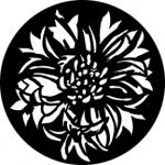 Standardstahlgobo Rosco Bloomin Flowers 76572