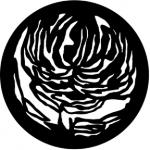 Standardstahlgobo Rosco Floral 2 77240
