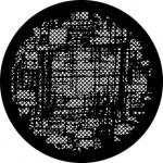 Standardstahlgobo Rosco Abstract Weave 76595
