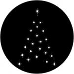 Standardstahlgobo Rosco Christmas Tree D 73634