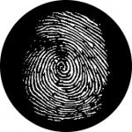 Standardstahlgobo Rosco Fingerprint 76614