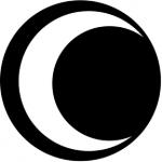 Standardstahlgobo Rosco Half Moon 77154