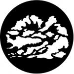 Standardstahlgobo Rosco Cloud 5 77163