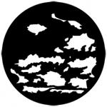 Standardstahlgobo Rosco Cloud 6 77164