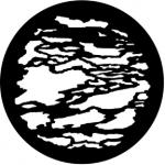Standardstahlgobo Rosco Cloud 11 2 77169