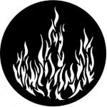 Standardstahlgobo Rosco Flames 1 77175