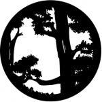 Standardstahlgobo Rosco Forest Top 77205