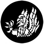 Standardstahlgobo Rosco Heraldics 6 77207