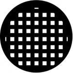 Standardstahlgobo Rosco Basket Weave 77204