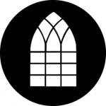Standardstahlgobo GAM Design Chancery Window 389