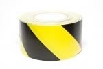 Tunnel-Tape Nr. 56  gelb/schwarz  150 mm x 36 m