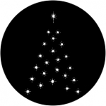 Standardstahlgobo Rosco Christmas Tree C 73633